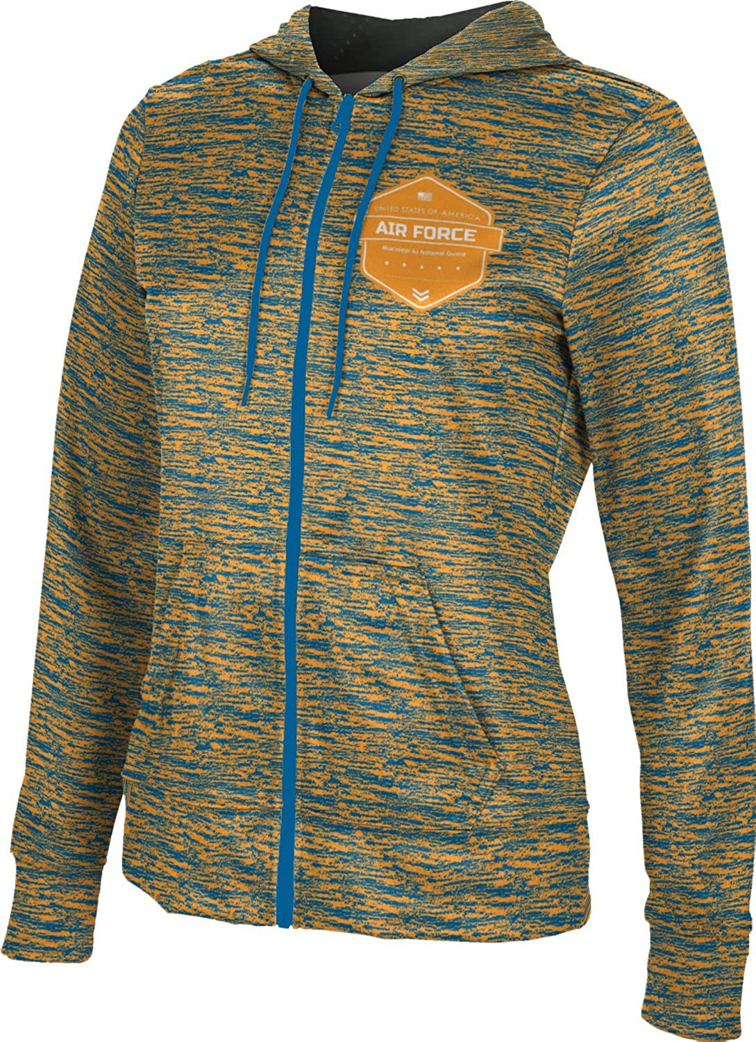 ProSphere Women's Mississippi Air National Guard Military Brushed Fullzip Hoodie