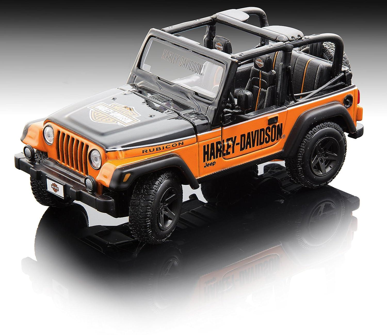 Buy Maisto 1 24 Harley Davidson Jeep Wrangler Diecast Vehicle