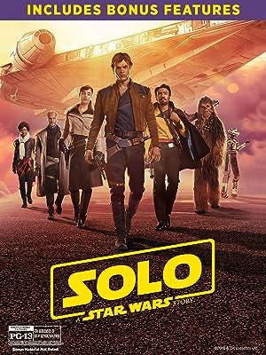 Solo: A Star Wars Story Blu-Ray DVD