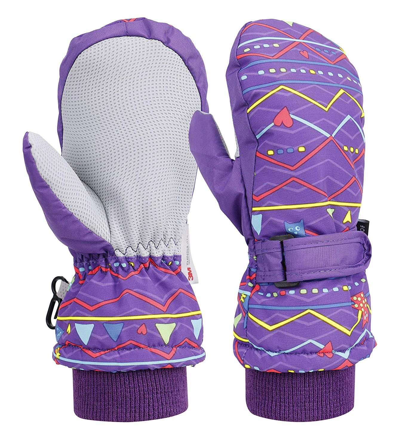 Livingston Thinsulate Lining Outdoors Waterproof Winter Ski Mitten Gloves