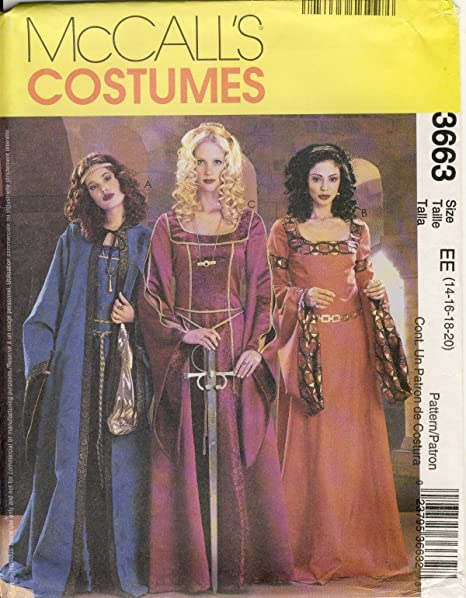 McCall Sewing Pattern 3663 EE - Use to Make - 3 Styles Misses ...