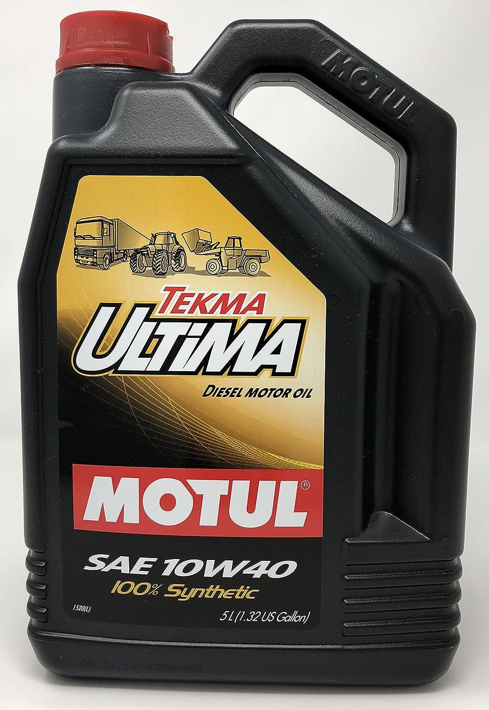 MOTUL - 106455 : Aceite lubricante motor TEKMA ULTIMA 10W40 5L: Amazon.es: Coche y moto
