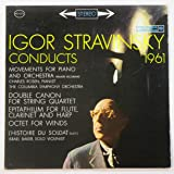 Igor Stravinsky Conducts (1961) Movements for Piano