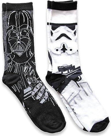 Darth Vader and Stormtrooper Socks