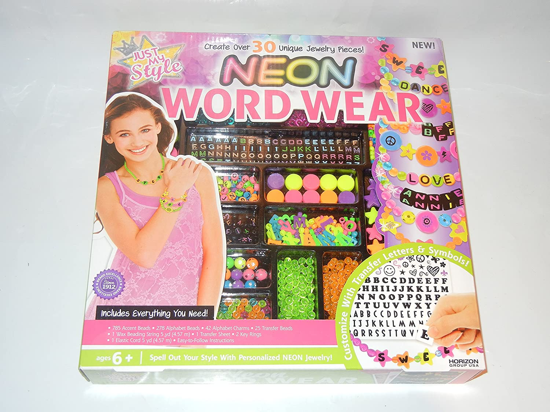 Neon Word Wear Horizon Group USA