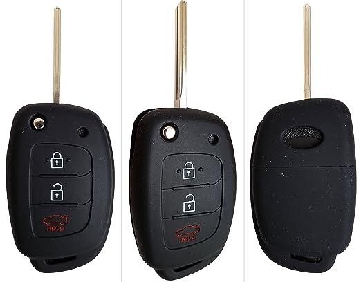 14 opinioni per CK+ Hyundai chiave Key Cover Case Custodia Silicone per i20 i40 Tucson ix20