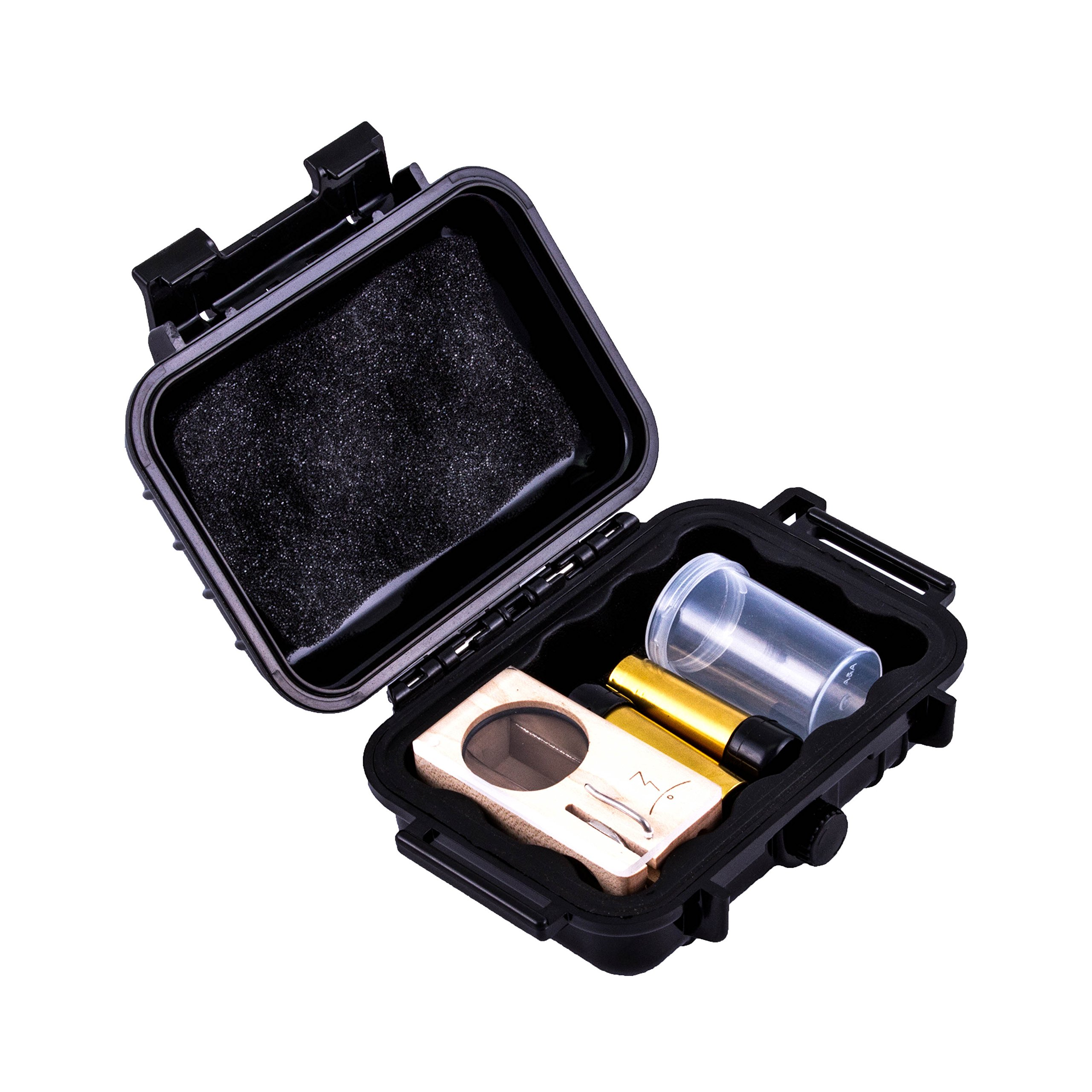 Cloud/Ten Smell Proof Case for Magic Flight Launch Box - Also Fits Two Batteries and The Included Herb Canister - 5'' Compact Design Discreetly Fits Magic Flight and Small Accessories