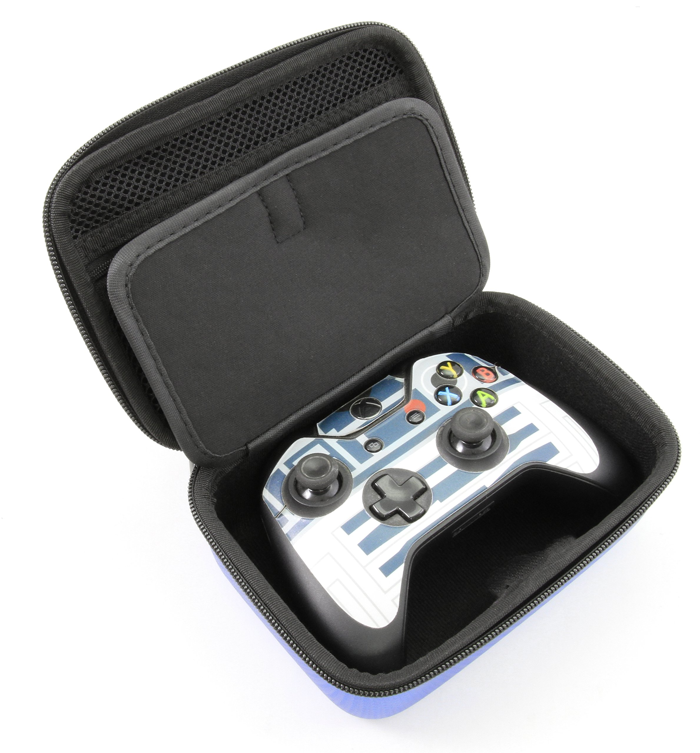CASEMATIX Xbox One X Wireless Controller Case - Protect Xbox One Controller , One X , One S and Controller Charger Cable