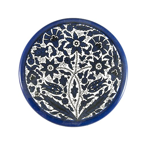 Decorative pottery ceramic plate Armenian ceramics hand painted floral gift from holy land israel old jerusalem  sc 1 st  Amazon.com & Amazon.com: Decorative pottery ceramic plate Armenian ceramics hand ...