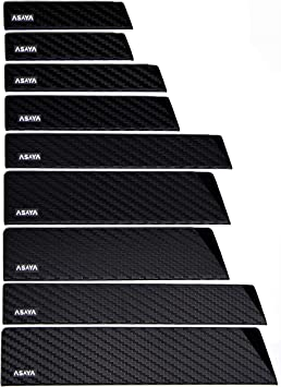 Heavy Strength Polymer 7 Piece Blade Guards Set Fits Most Felt Lined