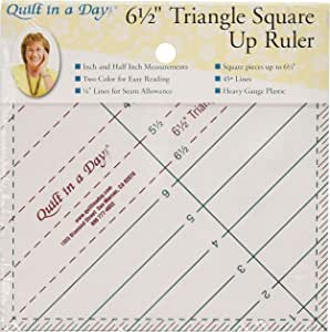 Quilt In A Day Triangle Square Ruler, 1-Pack, Original Version