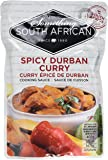 Something South African Chillies and Ginger Spicy Durban Curry Sauce 400 g (Pack of 5)