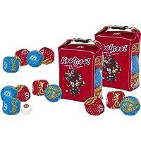 koolbool 2 Jeux, Freestyle Petanque avec 12 Boules Souples et Molles