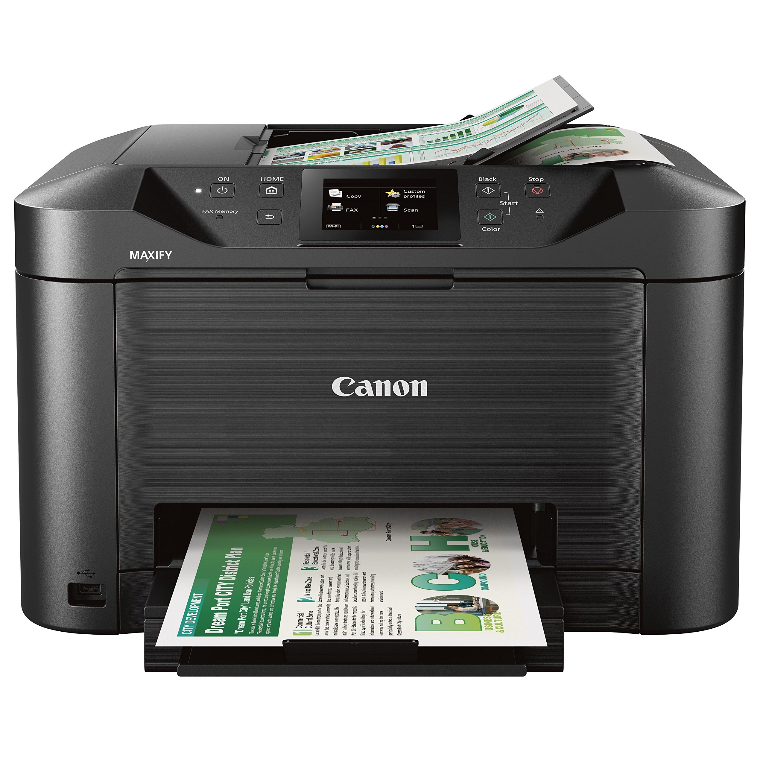Canon Office and Business MB5120 All-In-One Printer, Scanner, Copier and Fax, with Mobile and Duplex Printing