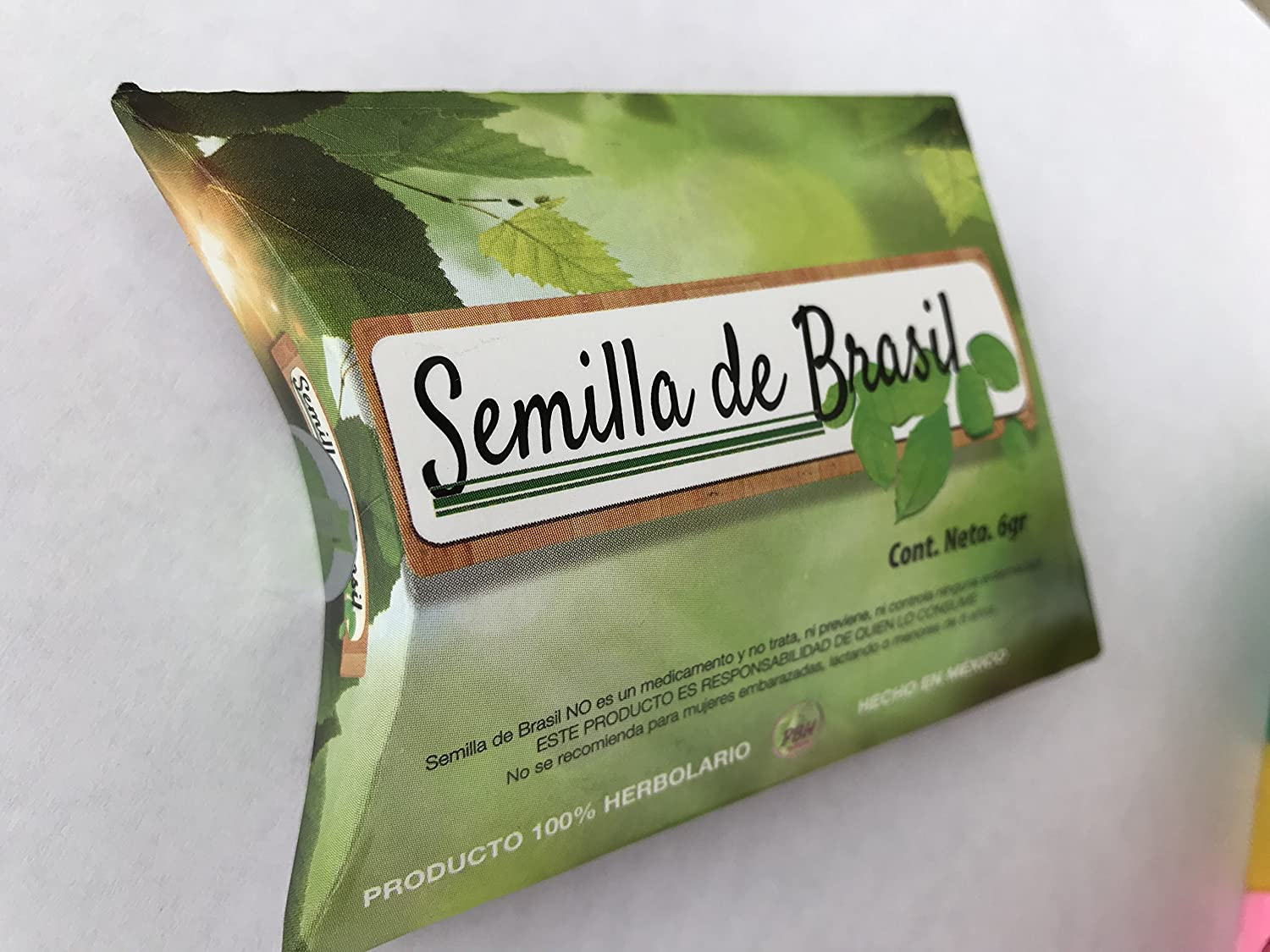 Amazon.com: Semilla de Brasil   Brazil Seed   Weight Loss Supplement   100% Original, Pure & Authentic   Highest Quality   30 Day Supply   Fat Burner: ...