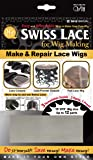 Qfit Swiss Lace for Wig Making Make & Repair Lace Wigs #5012