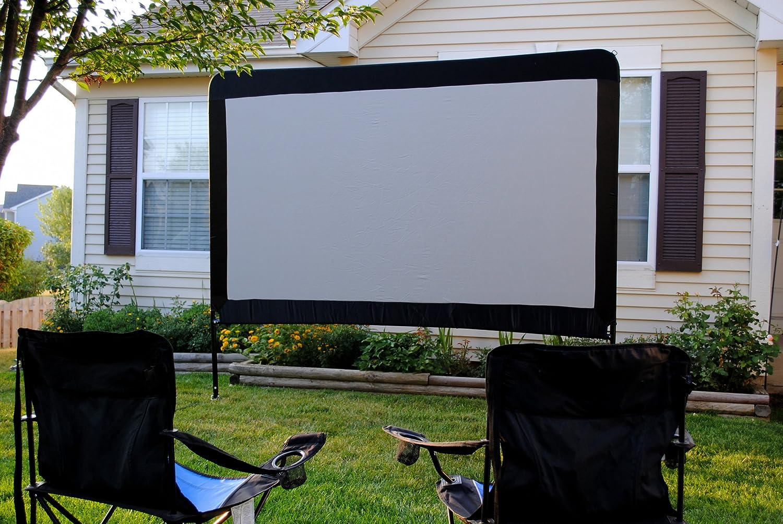 amazon com backyard outdoor home theater in a box portable dvd