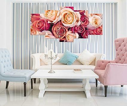 PRINTELLIGENT multiple frames wall art panels Sunboard frame Printed ...