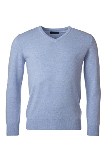Great   British Knitwear Men s HM100 100% Lambswool Plain V Neck Jumper.  Made in 5a5360259