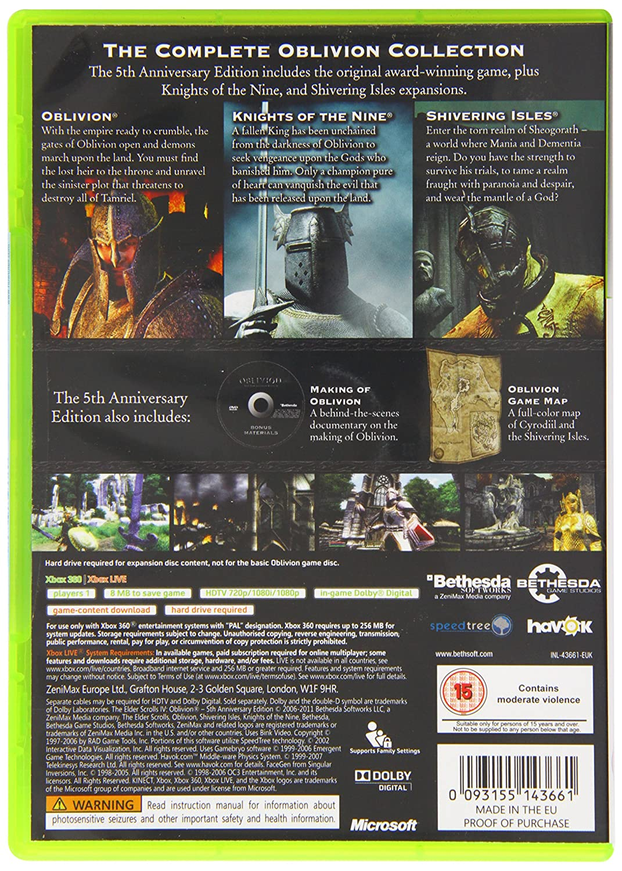 The Elder Scrolls IV: Oblivion 5th Anniversary Edition (Playstation
