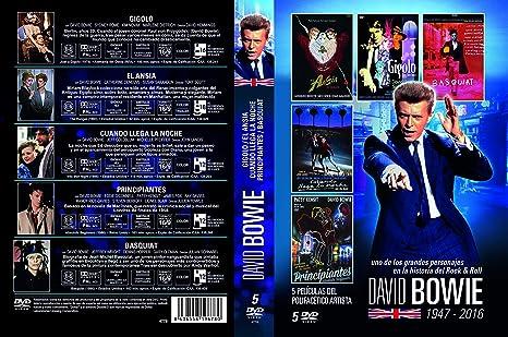 David Bowie Pack 5 DVDs: Amazon.es: David Bowie, Varios, David Bowie: Cine y Series TV