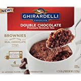 Ghirardelli Mug Brownie Mix, Double Chocolate, 9.2 Ounce, 6 Count