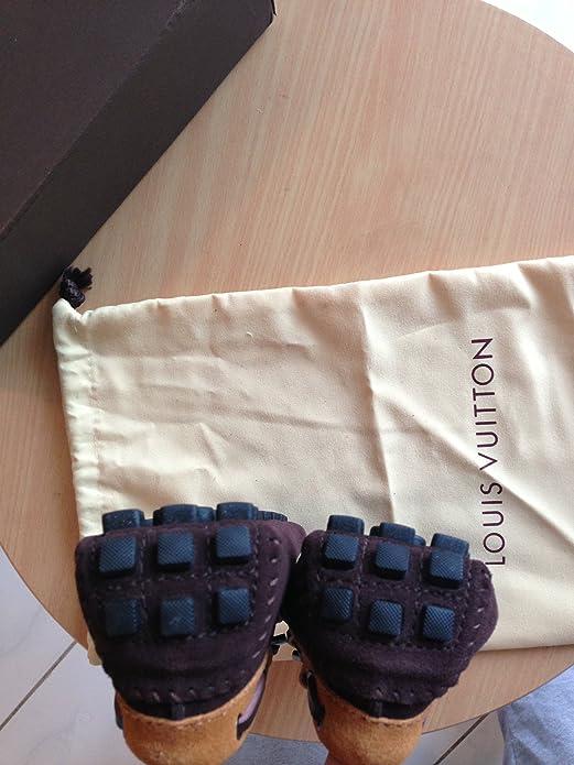 Louis Vuitton - Mocasines para hombre marrón marrón 44: Amazon.es: Zapatos y complementos