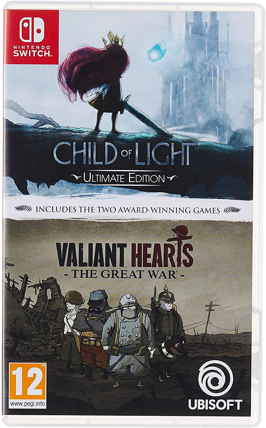 Child Of Light & Valiant Hearts - Nintendo Switch [Importación ...