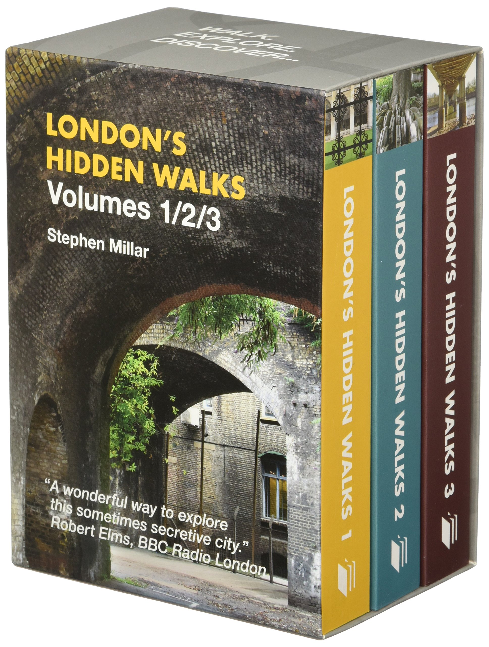 Londons Hidden Walks Volumes 1 3: Stephen Millar: 9781902910543:  Amazon.com: Books