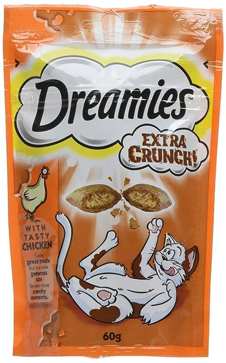 Catisfactions Golosinas para Gatos de Dreamies