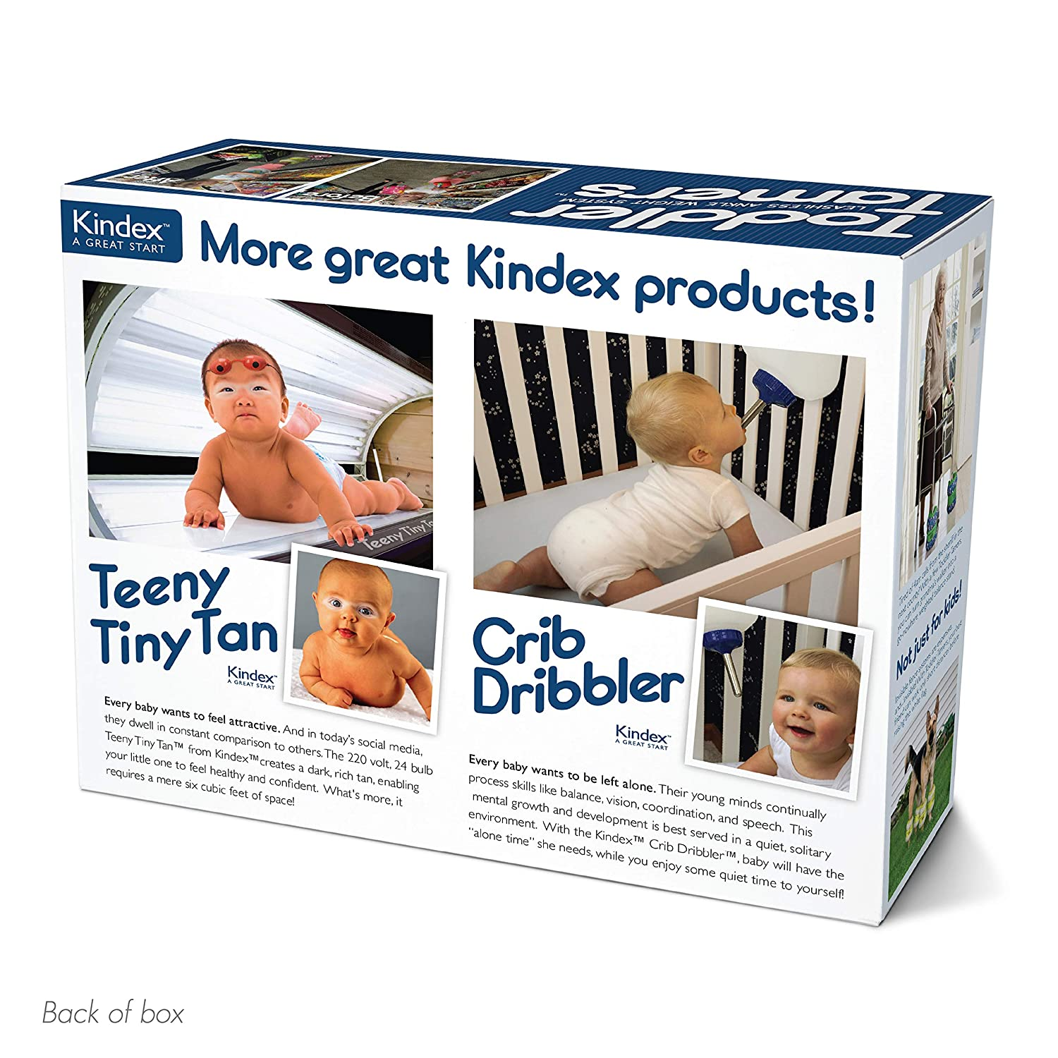 """Prank Pack """"Toddler Tamers"""" - Wrap Your Real Gift in a Prank Funny Gag Joke  Gift Box - by Prank-O - The"""
