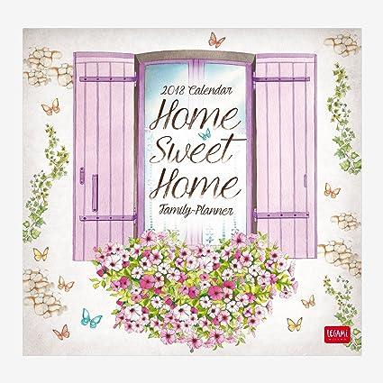 Legami CAL18050 - Calendario 2018 de pared, diseño home sweet home ...
