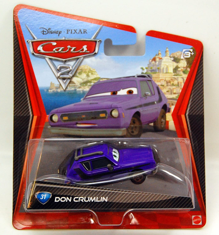 Amazon Com Disney Pixar Cars 2 Movie Series 1 55 Scale Die Cast