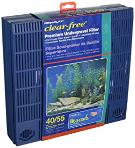 Penn Plax 40/55 Gallon Under Tank Filter, 11.5 by 46-inch