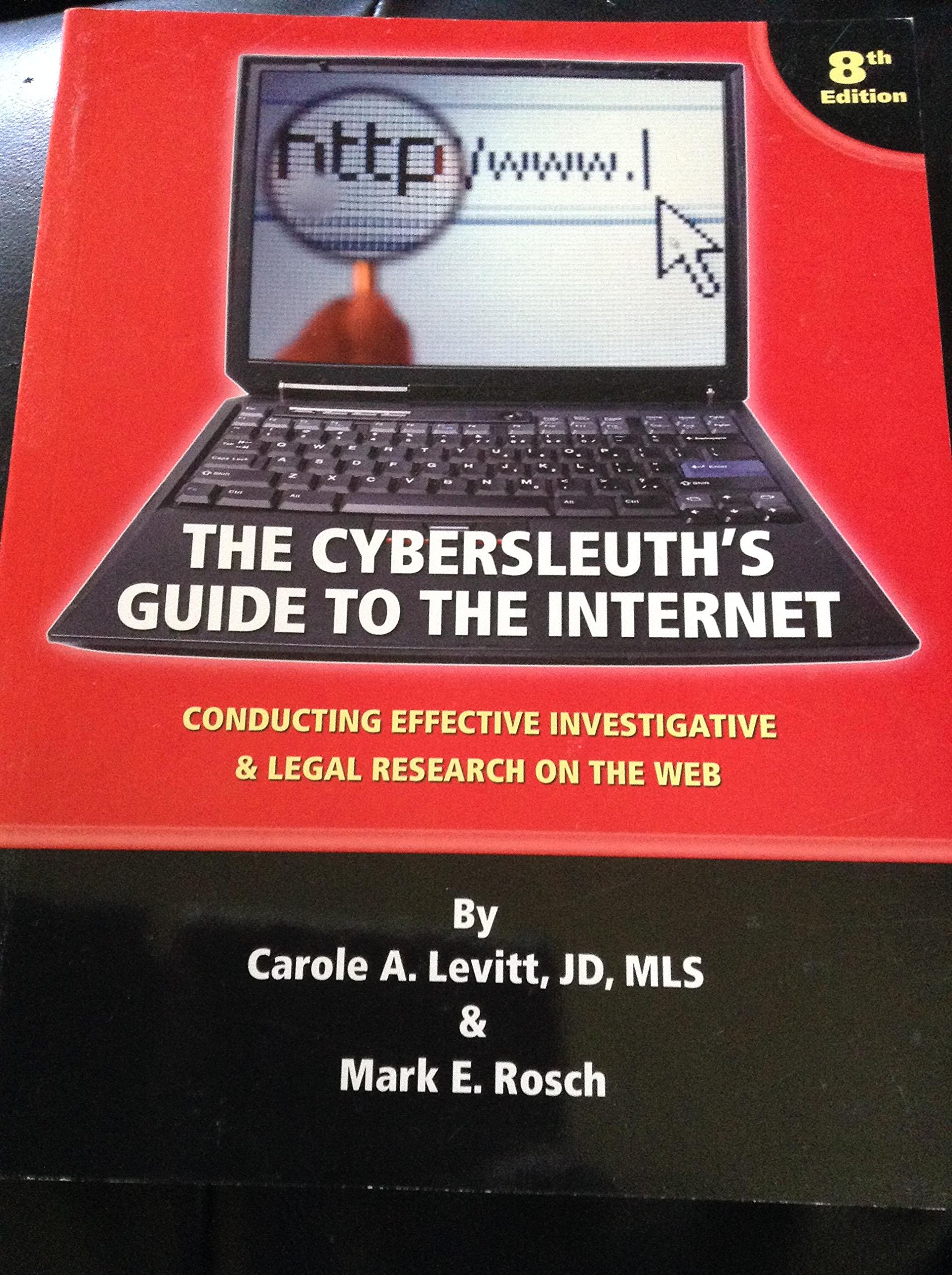 The Cybersleuth's Guide to the Internet pdf