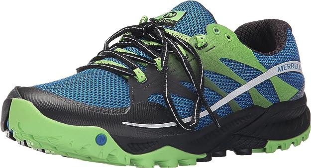 Merrell All out Charge, Zapatillas de Running para Hombre, Multicolor (Blue Dusk), 46 EU: Amazon.es: Zapatos y complementos