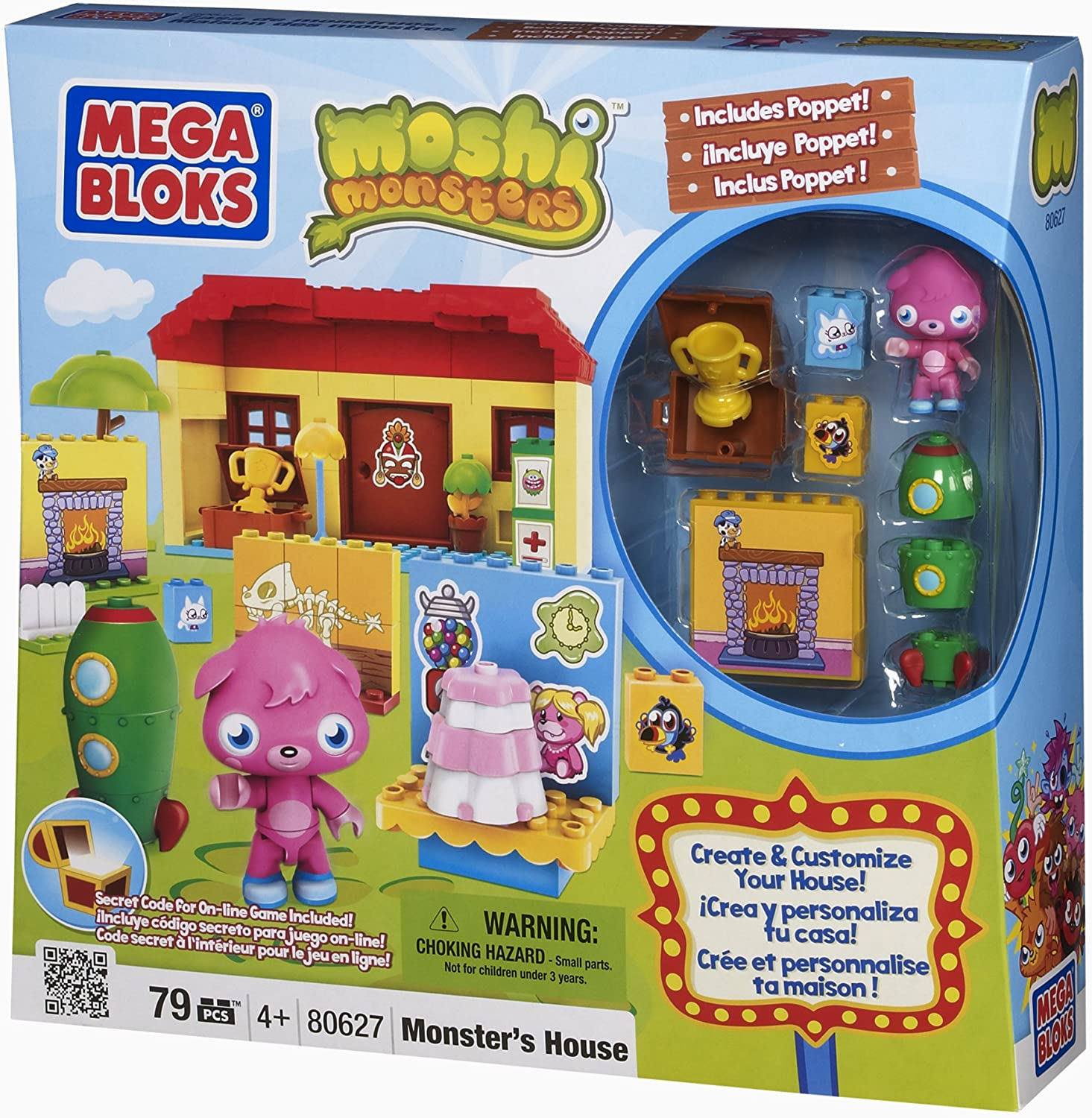 Amazon Com Moshi Monsters Monster House Toys Games
