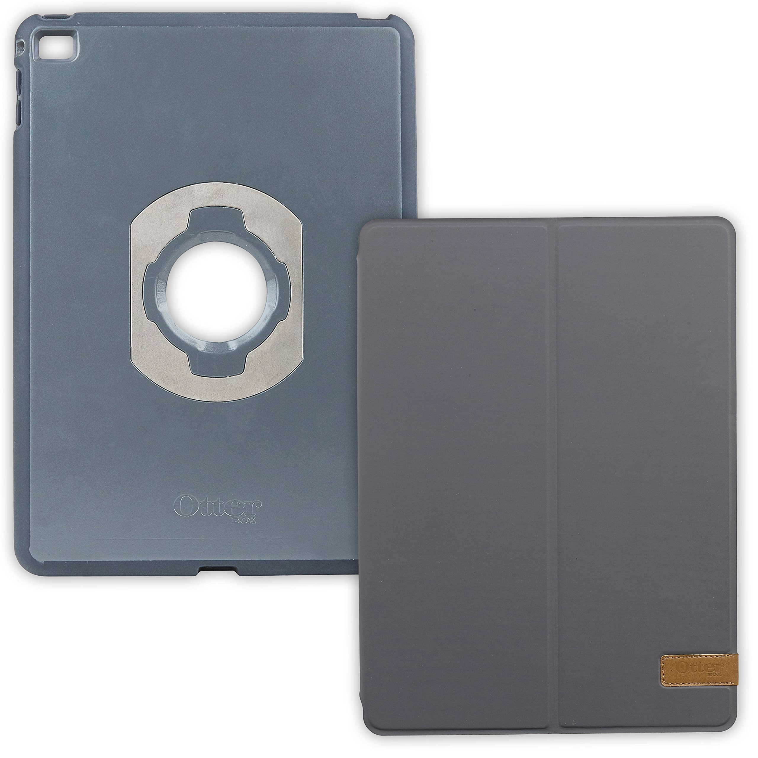 OtterBox Agility Folio Bundle for Apple iPad Air with Shell and Folio Cover, Grey (78-50351)