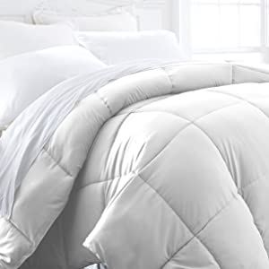 ienjoy Home Hotel Collection 1500 Series - Lightweight - Luxury Goose Down Alternative Comforter - Hotel Quality Comforter and Hypoallergenic - Full/Queen - White
