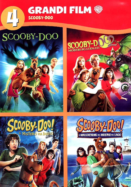 Amazon Com Scooby Doo 4 Grandi Film 4 Dvd Italian Edition Peter Boyle Linda Cardellini Raja Gosnell Movies Tv