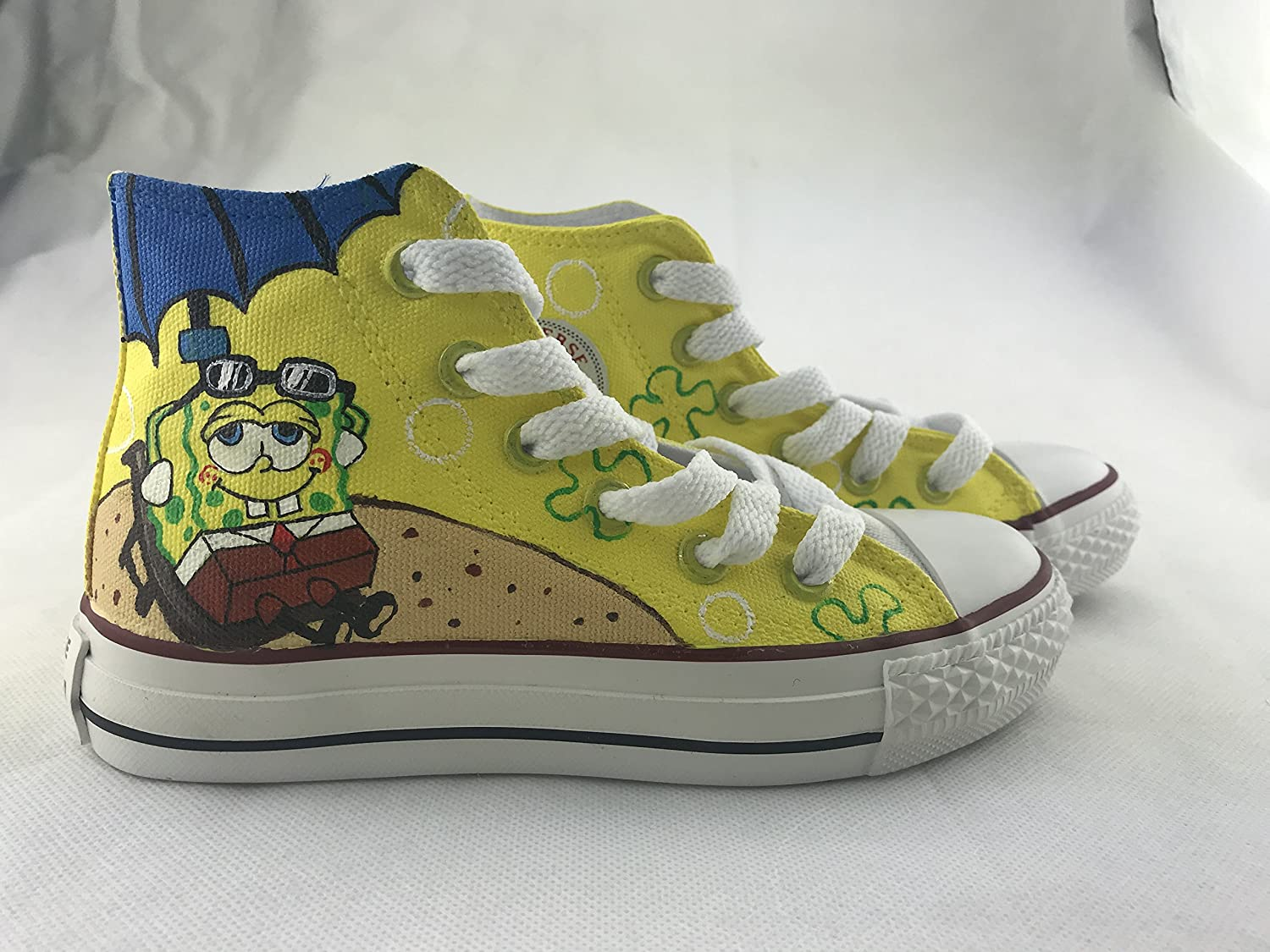Hand Painted Canvas Sneakers