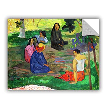 ArtWall Paul Gauguins Les Parau The Gossippers Art Appeelz Removable Graphic Wall 24