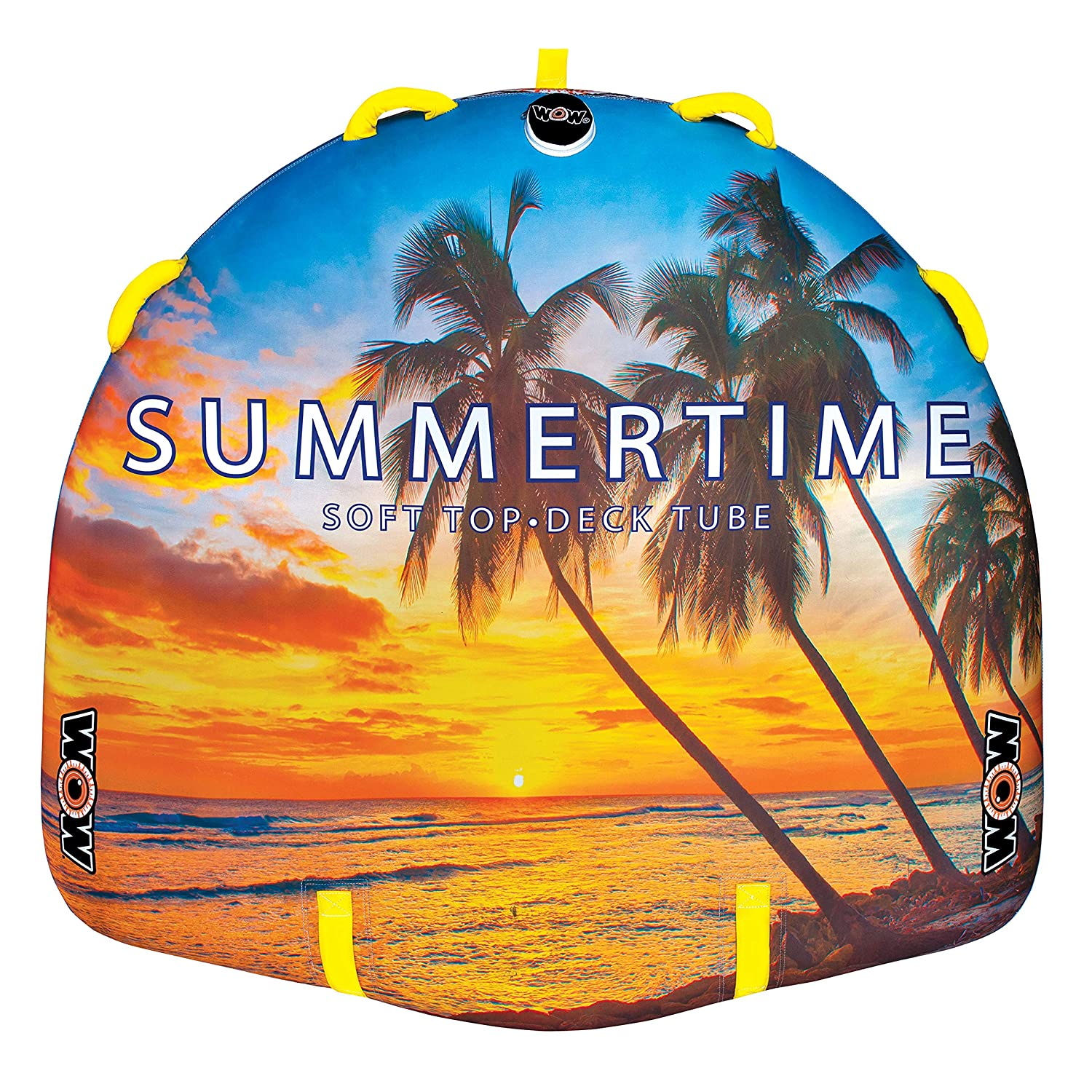 WoW Watersports Summertime, Towable, Ultra Soft Top, Tapered Construction for Wild Ride