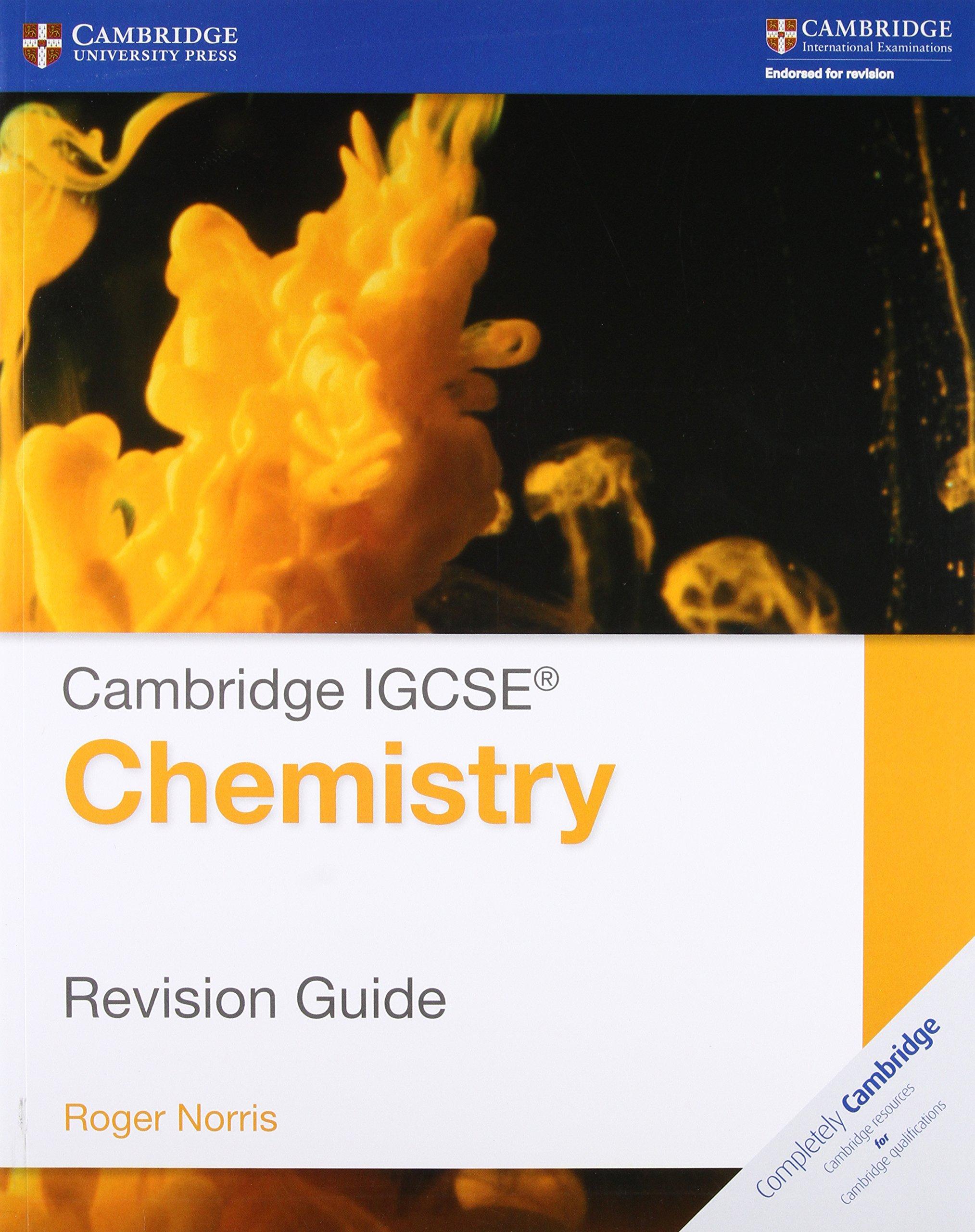 Amazon cambridge igcse174 chemistry revision guide amazon cambridge igcse174 chemistry revision guide cambridge international igcse 9781107697997 roger norris books fandeluxe Gallery