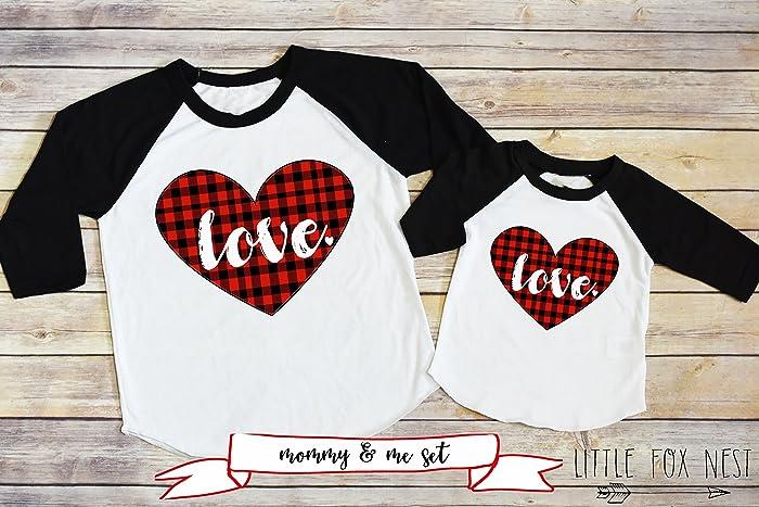 c0f35da0 Amazon.com: Mommy and Me Shirts, Valentines Shirts, Valentines Day, Love  Shirts: Handmade