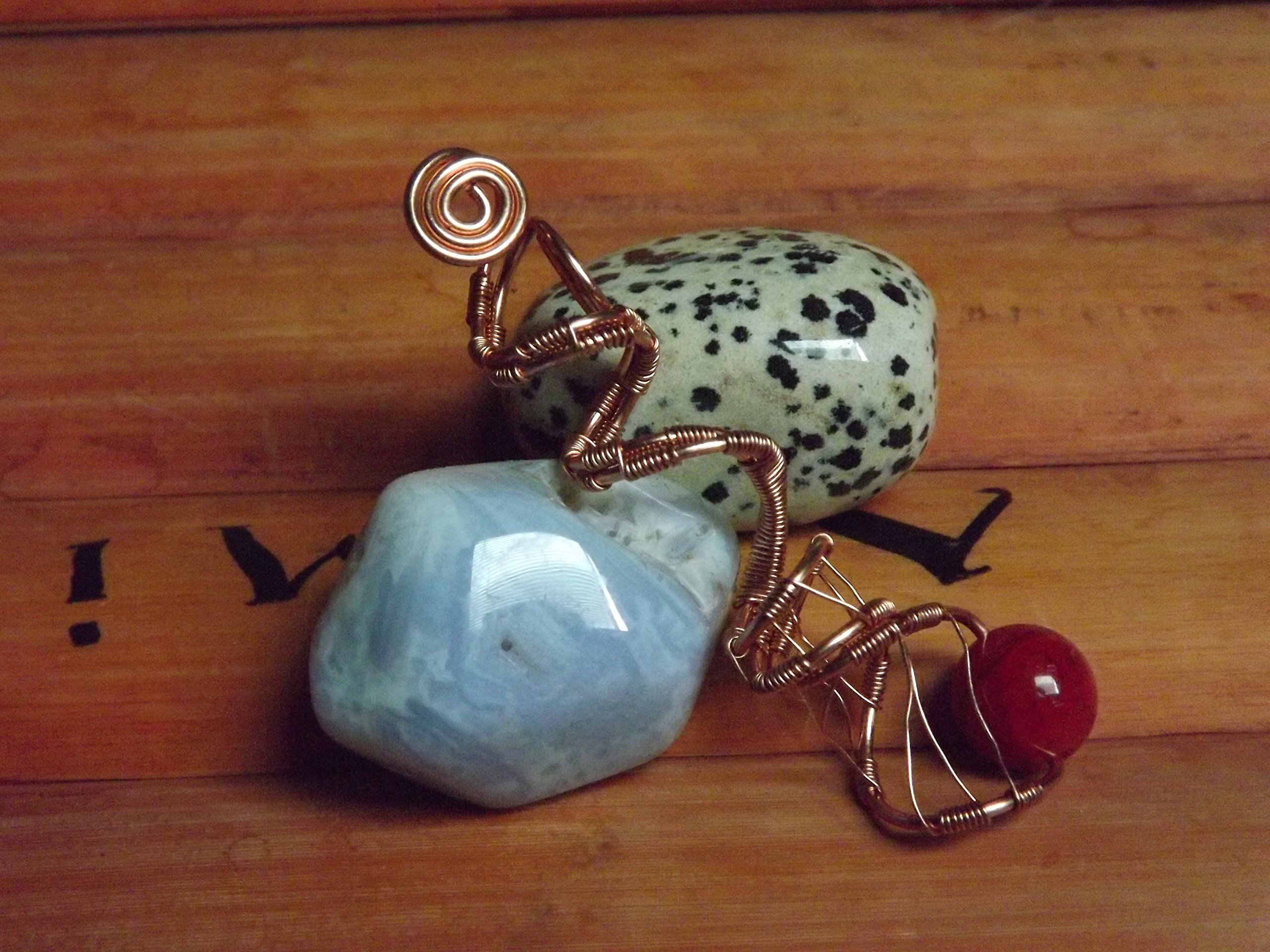 Works of the Nile Loc Jewelry Hair Jewels Dreadlock Bead Loc Adornment Healing Stones Viking Hair Bead