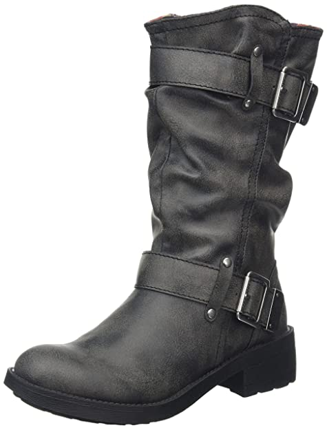 Rocket Dog Trumble, Botas de Motorista para Mujer: Amazon.es: Zapatos y complementos