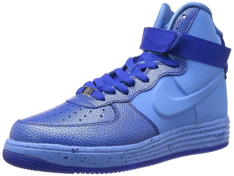 Nike Wmns Air Force 1 '07 PRM LX, Hausschuhe de Gimnasia Unisex Adulto Blau (Royal Tint Mtlc Gold Star Summit Weiß 400)