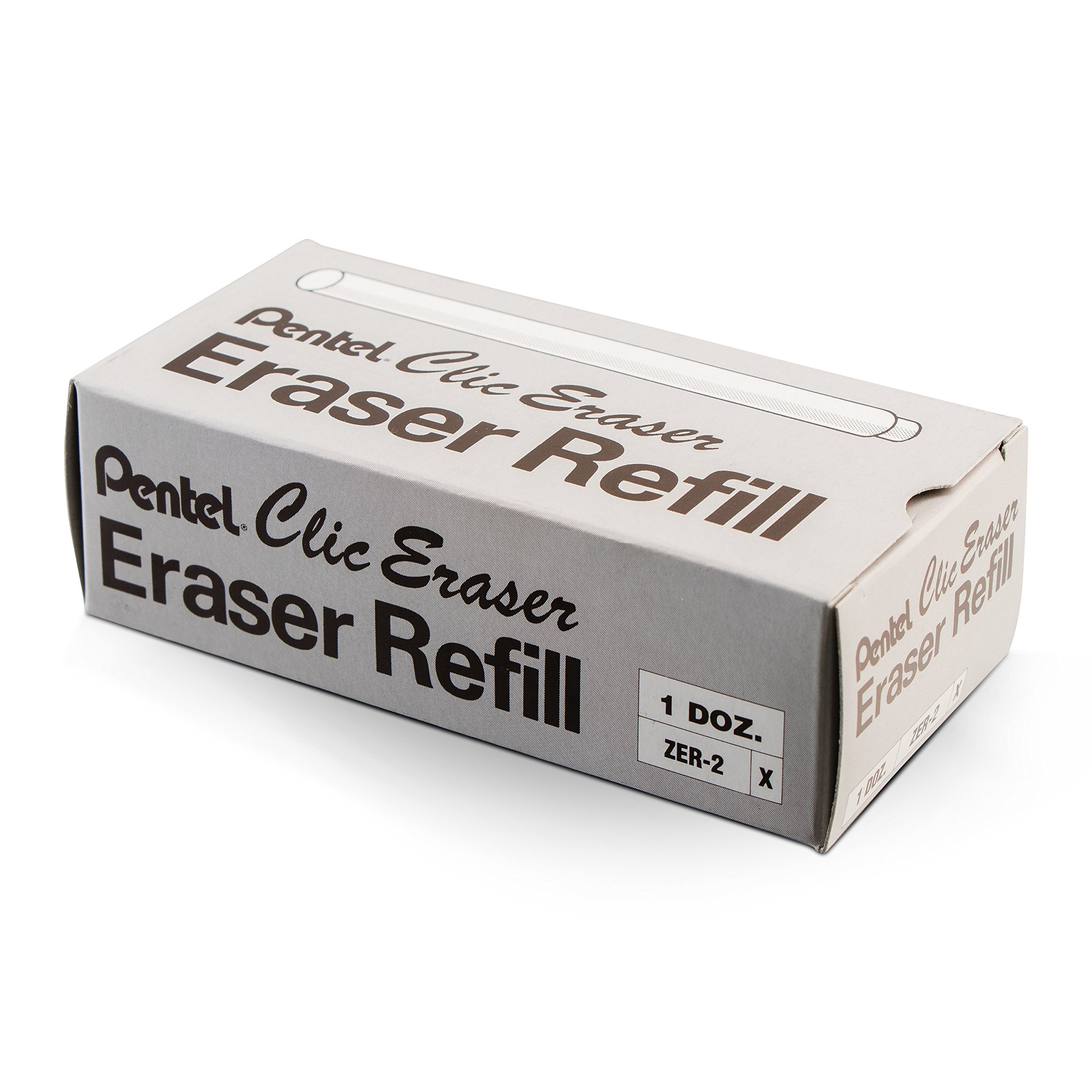 Pentel Refill Erasers for Clic Eraser, Contains 24 Erasers (ZER-2) by Pentel (Image #3)