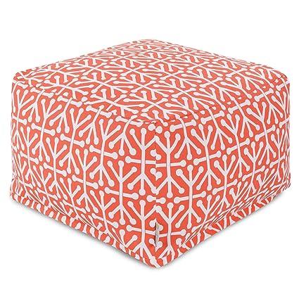 Amazon.com: Majestic Home Goods Aruba Otomano, grande ...